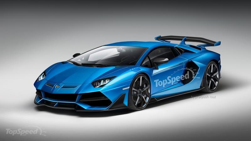 The Lamborghini Aventador SVJ Will be the Last Lambo to Sport a Stand-Alone V-12