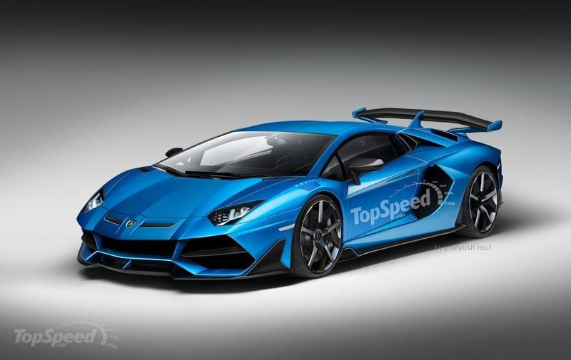 2019 Lamborghini Aventador Svj Top Speed