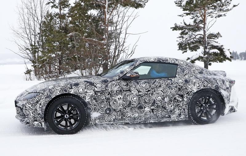 The Very First 2020 Toyota Supra Will Be Sold at a Charity Auction Exterior Spyshots - image 769567