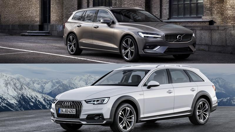 2019 Volvo V60 Vs. 2018 Audi A4 Allroad – A Visual Comparison