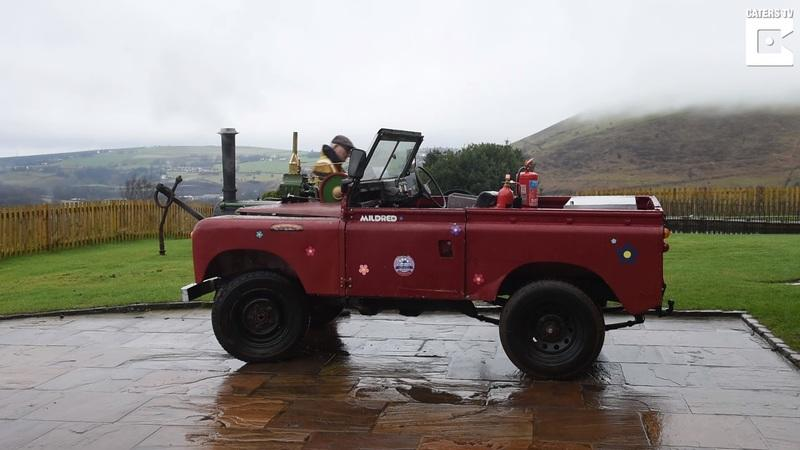 A 50-Year-Old Coal-Powered Steam Land Rover? Yup, There's One Out There
