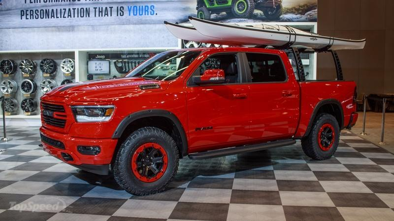 All-New Ram 1500 Gets the Full Mopar Treatment