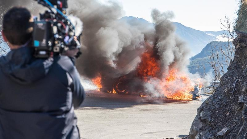 Alpine A110 Catches Fire During Top Gear Presentation