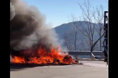 Alpine A110 Catches Fire During Top Gear Presentation - image 765365