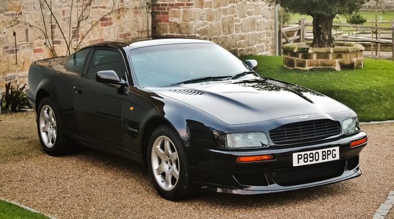 Car for Sale: Elton John's 1997 Aston Martin V8 Vantage V550-Manual
