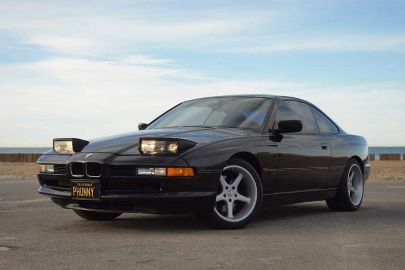 Car For Sale: George Carlin's 1996 BMW 850Ci