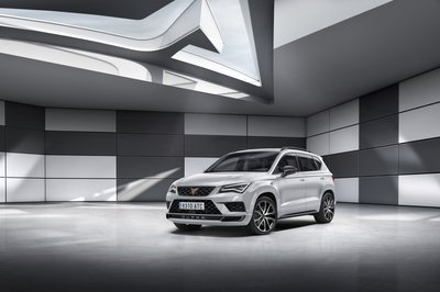 Entering Stage Left: The 296 Horsepower Cupra Ateca - image 770170