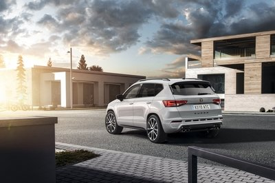 Entering Stage Left: The 296 Horsepower Cupra Ateca - image 770171