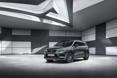 Entering Stage Left: The 296 Horsepower Cupra Ateca - image 770167