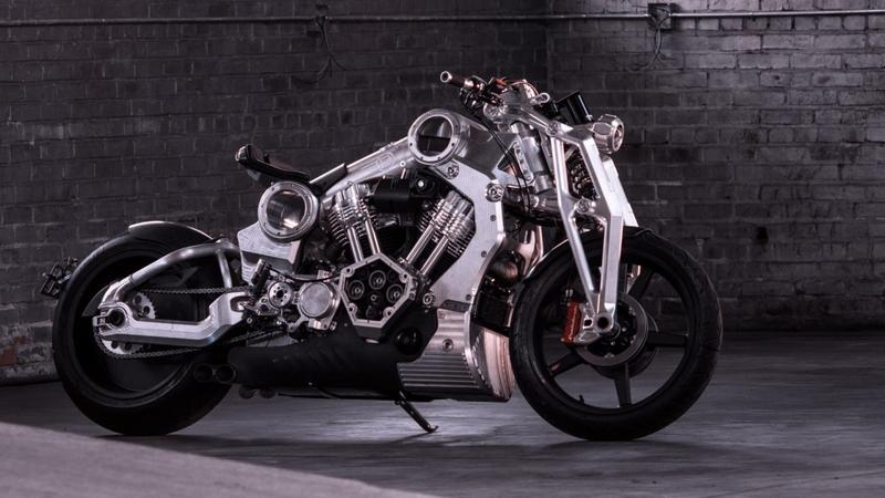 Curtiss Motorcycles announces the final production V-Twin, the Warhawk