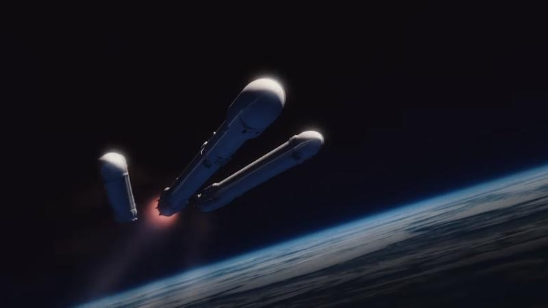 Elon Musk Demonstrates Falcon Heavy Launch With Tesla Roadster And Starman Payload