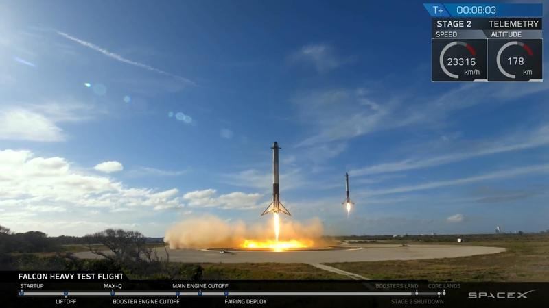 Falcon Heavy Launch Sends Tesla Roadster And Starman Into The Great Beyond, But Now What?