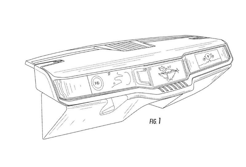 FCA Has Filed a Patent for a Three-Screen Dashboard