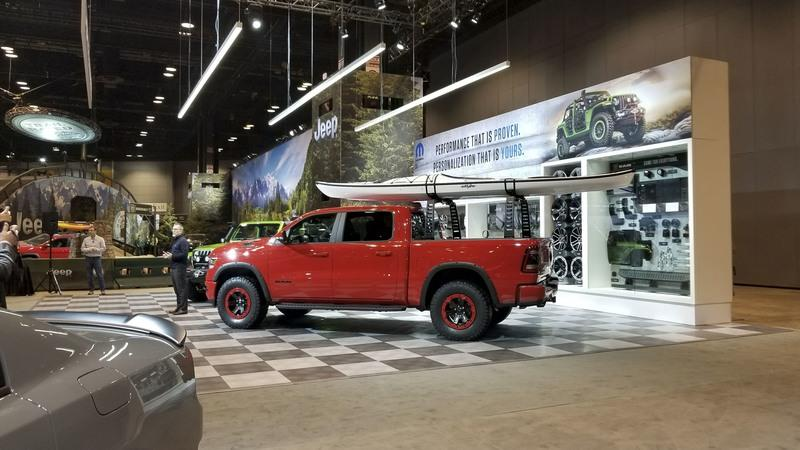 FCA Showcase Mopar Accessories for 2019 Ram 1500 in Chicago