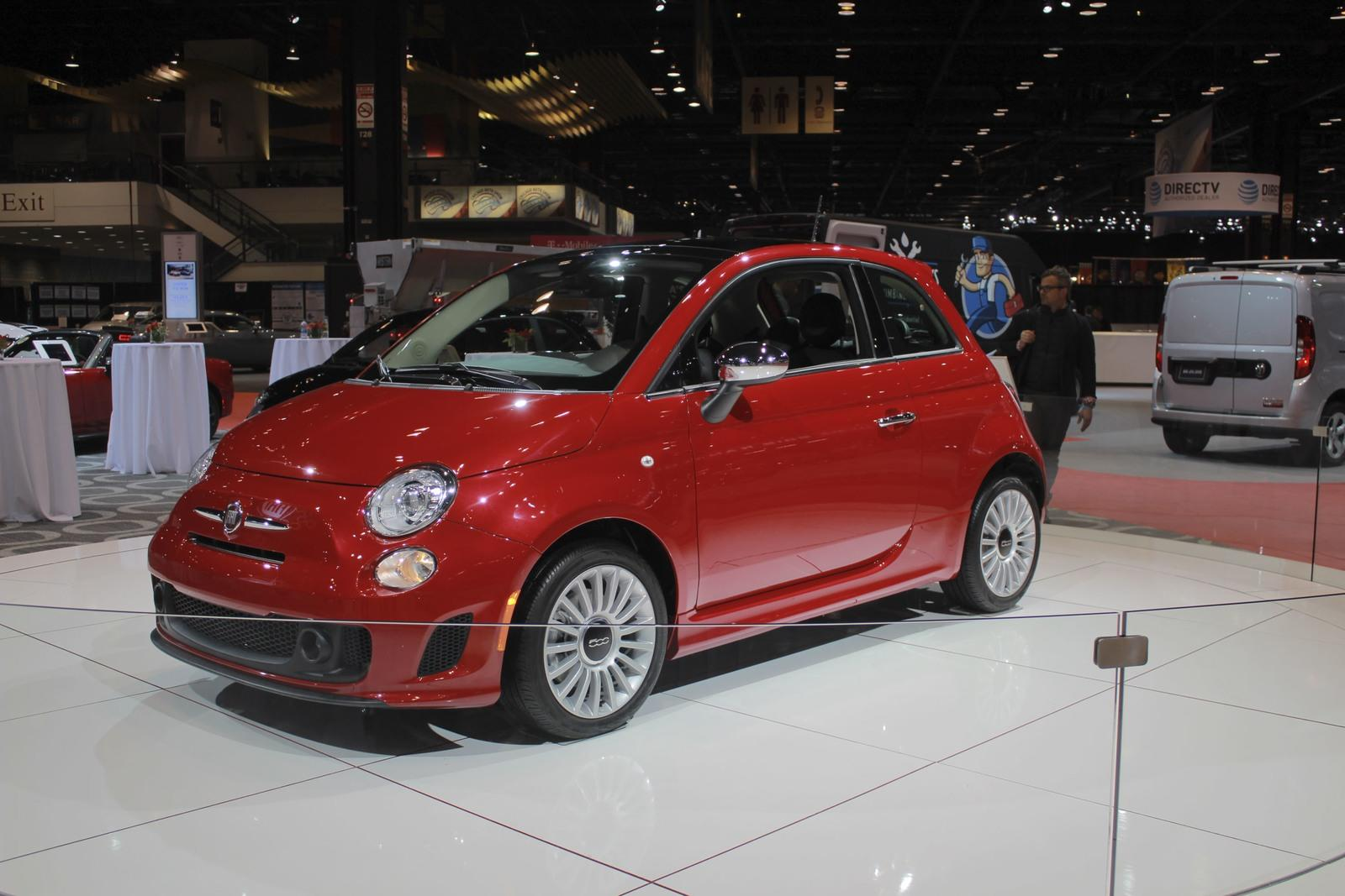 fiat adds turbo fun across the 500 lineup at chicago auto. Black Bedroom Furniture Sets. Home Design Ideas