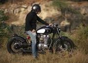 Finally someone made a Royal Enfield Bobber - image 770135