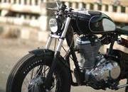 Finally someone made a Royal Enfield Bobber - image 770138