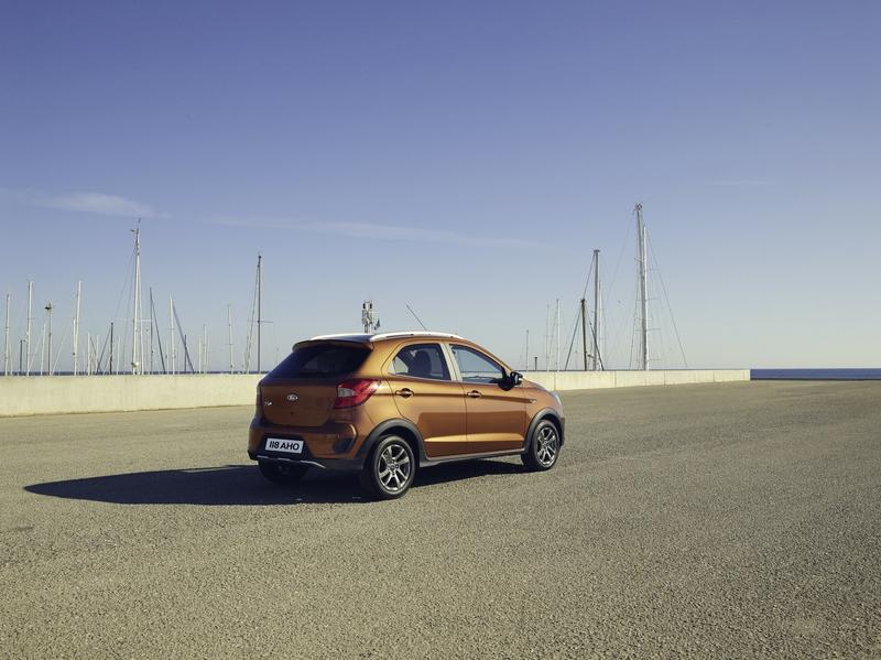 Ford Reveals Updated Ka+; Adds Crossover Model and Diesel Engine