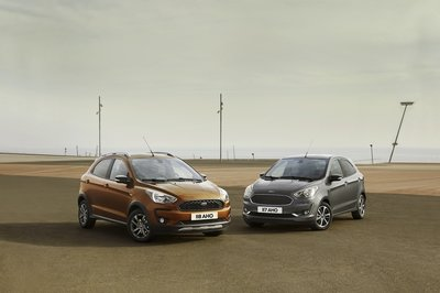 Ford Reveals Updated Ka+; Adds Crossover Model and Diesel Engine - image 765437