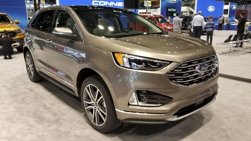 The 2019 Ford Edge Gets Gussied-Up Titanium Elite Trim in Chicago