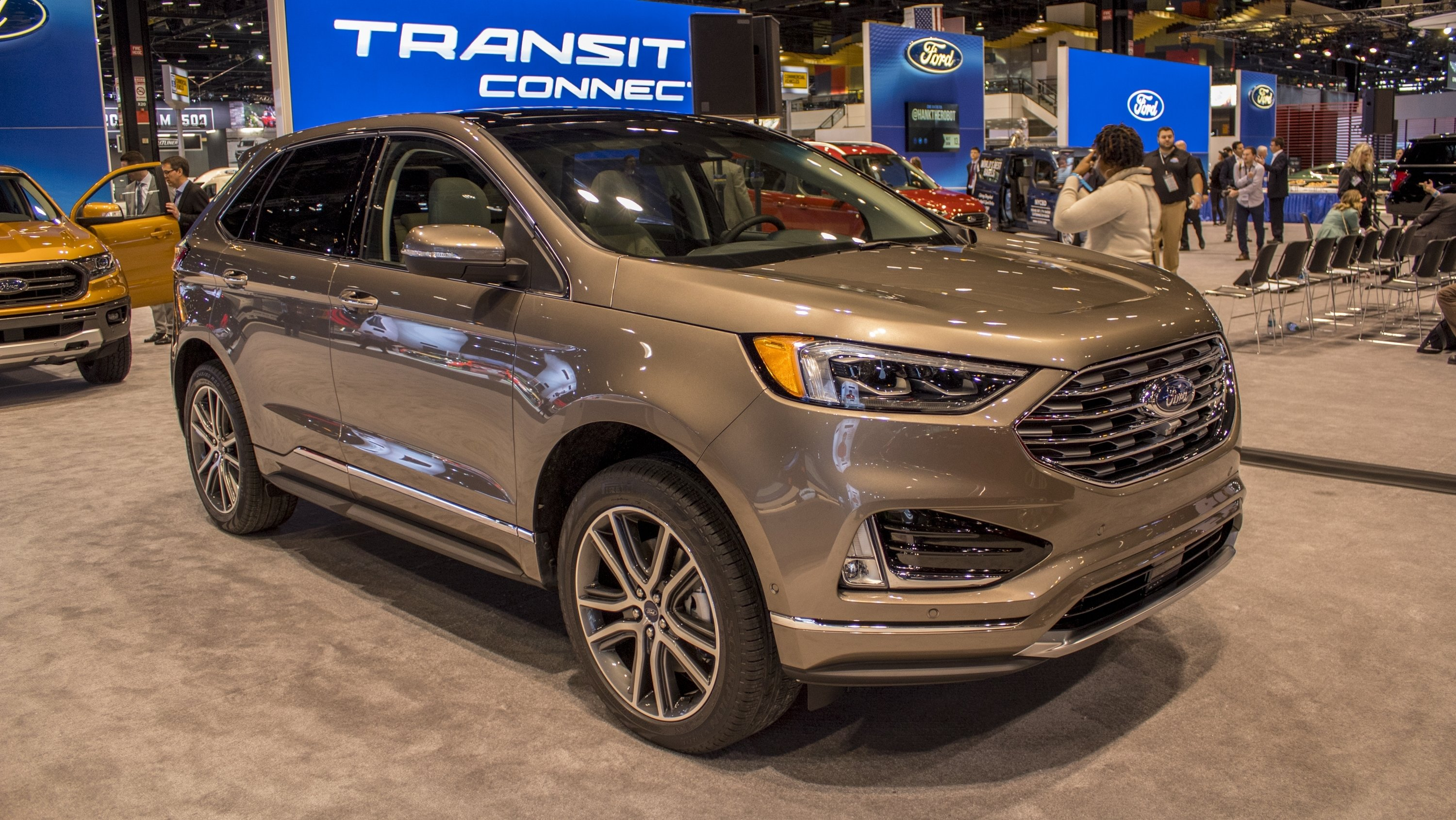 Introduced In  The Ford Edge One Of The Companys Key Vehicles Gained A Significant Update For The  Model Alongside The Revised Exterior
