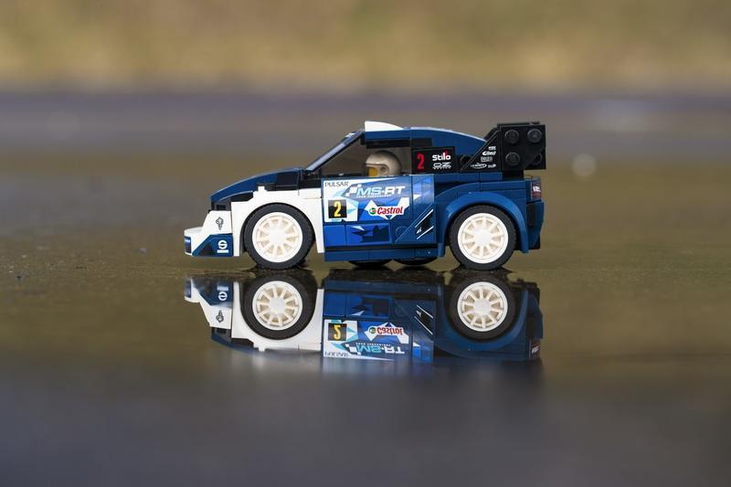 Ford's M-Sport Fiesta Rally Car Now Available in the LEGO Speed Champions Collection