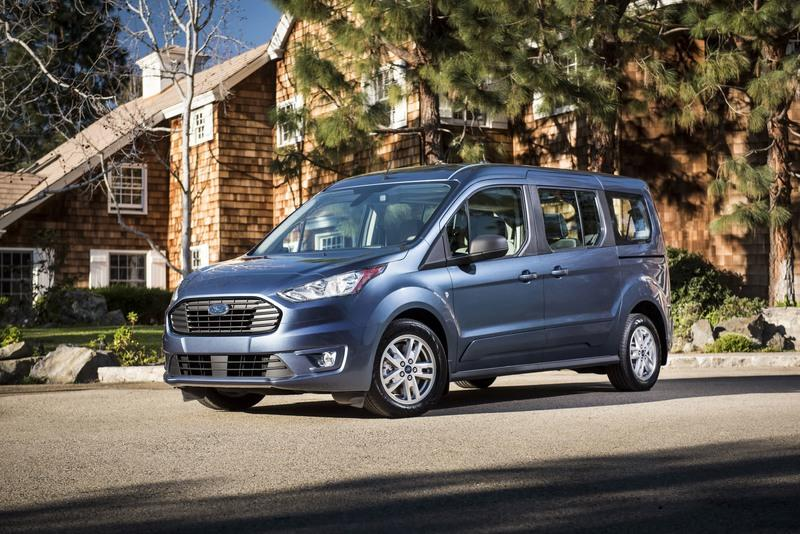 Ford Transit Connect Gets Diesel Engine in Chicago