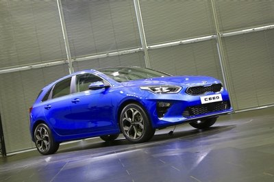 Kia Shows off the All-New Kia Ceed Prior to its Geneva Debut - image 768724