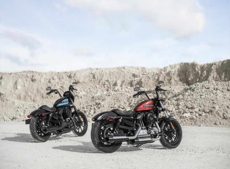 Harley-Davidson launches two factory-custom Sportsters with a little more oomph
