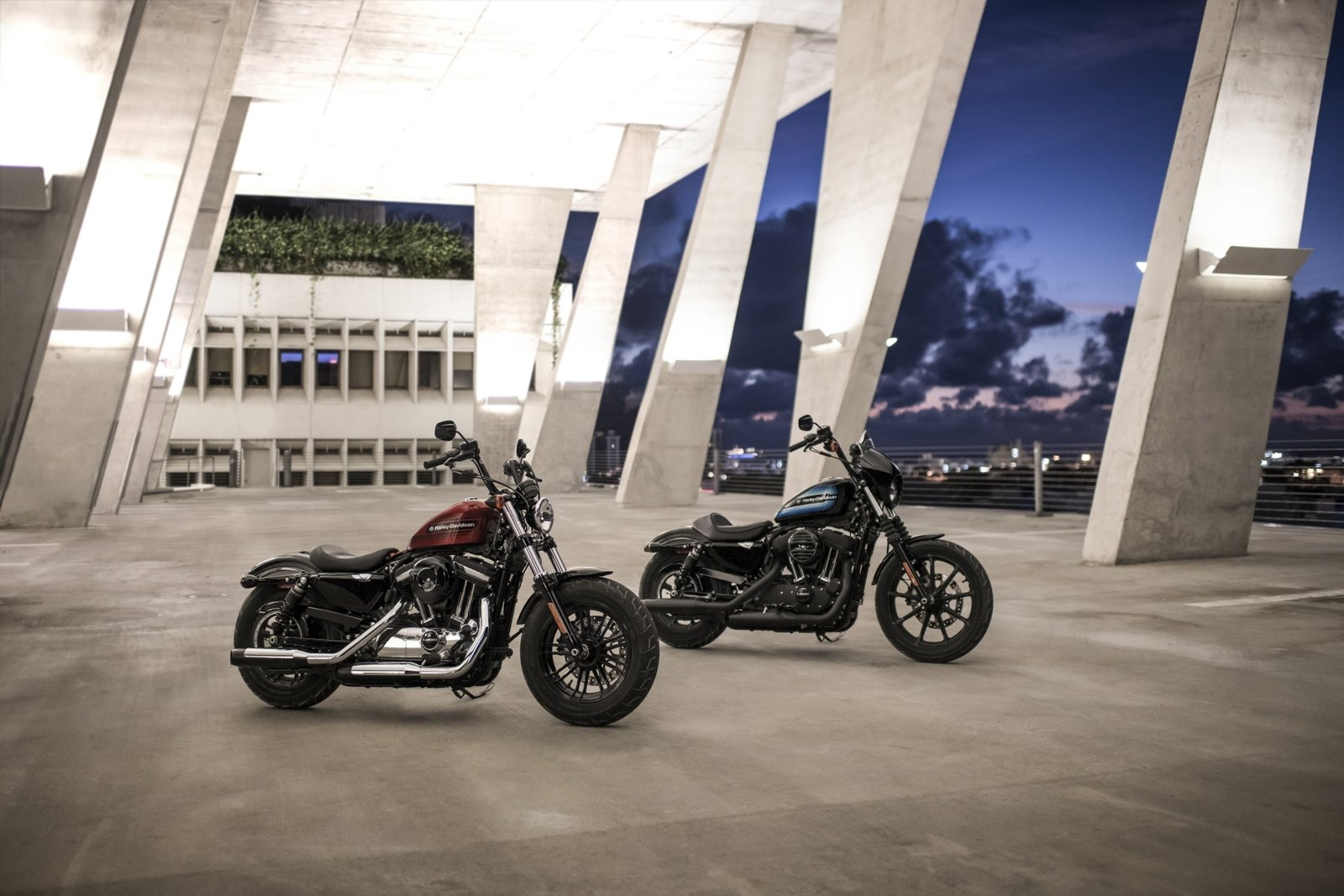 Harley Davidson: Gallery: Harley-Davidson Forty Eight Special And Iron 1200
