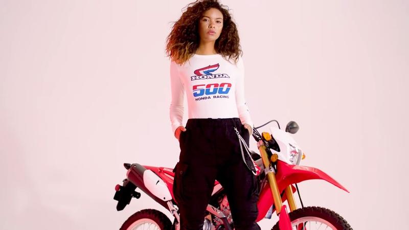 Honda and Forever 21 team up to bring out fashion inspired from the '80s and '90s