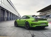 Hulk-Green 2018 Porsche 911 GT3 RS Leaks Prior to Debut - image 765601