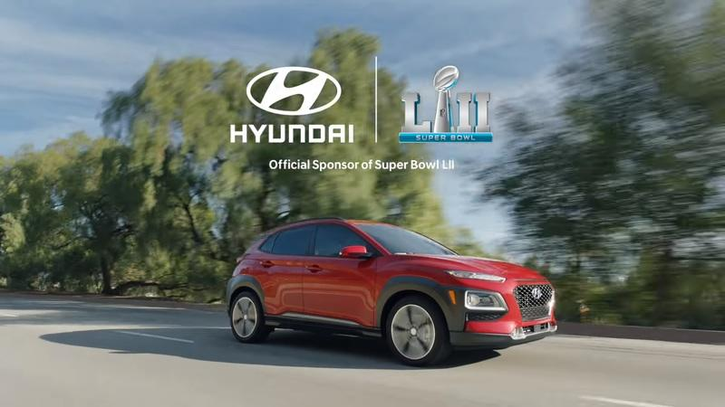Hyundai Kona to Get the Superbowl LII Commercial Spotlight