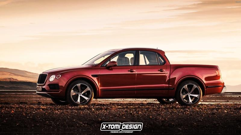 Is There Room in the World for a Bentley Bentayga Pickup?