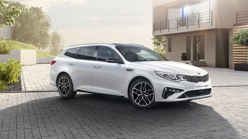 Kia Gives the Optima Sportswagon a Revitalizing New Look and Fresh Power for the Geneva Motor Show