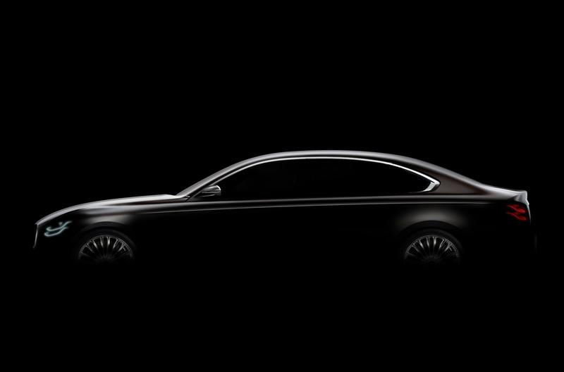 Kia Teases the K900 Sedan Before it Debuts at the New York Auto Show