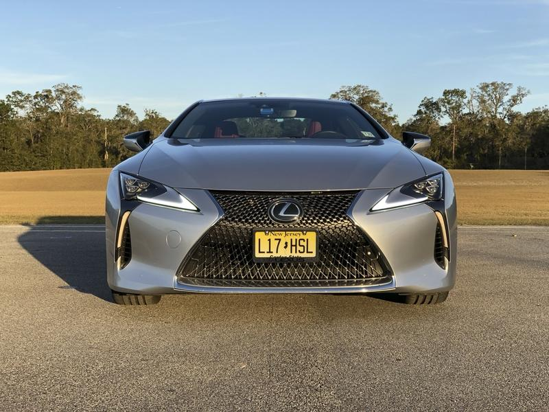 What It's Like to Daily Drive the Lexus LC500