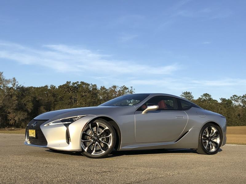 The 2018 Lexus LC500 is the Perfect Ride for a Valentine's Day Date - image 767625