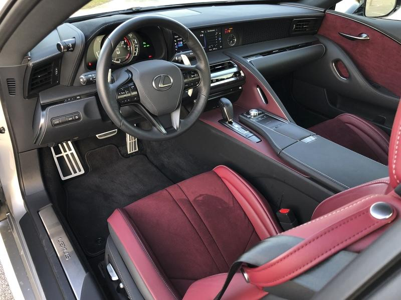What It's Like to Daily Drive the Lexus LC500 Interior - image 767653
