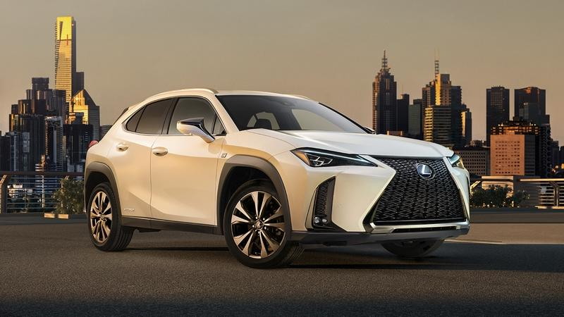 Lexus Previews UX Crossover Ahead of Geneva