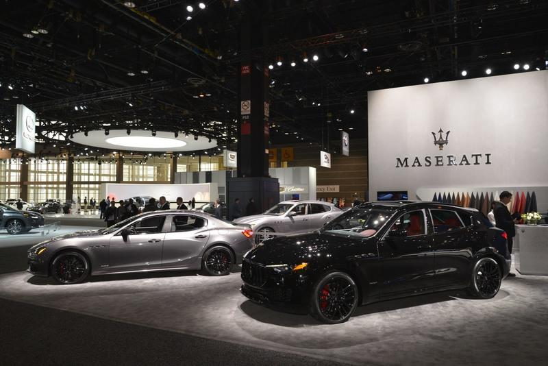 Maserati's Chicago Booth Is as Boring as it Gets