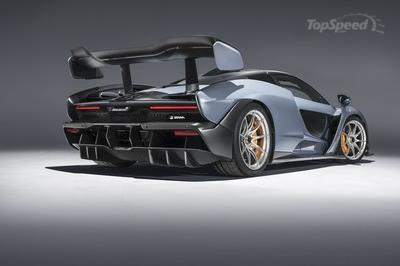 McLaren Senna Is Quicker than P1, Generates Incredible Downforce - image 765827