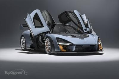 McLaren Senna Is Quicker than P1, Generates Incredible Downforce - image 765812