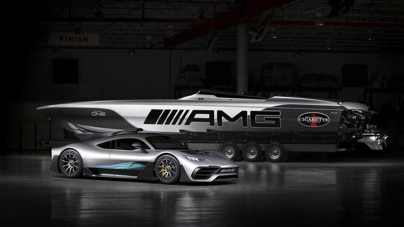 Mercedes-AMG and Cigarette Racing Teamed up Again to Bring us the 515 Project ONE