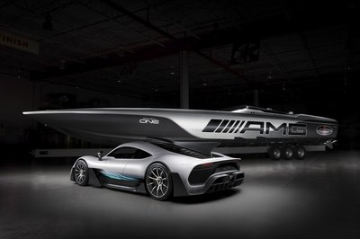 Mercedes-AMG and Cigarette Racing Teamed up Again to Bring us the 515 Project ONE - image 768816