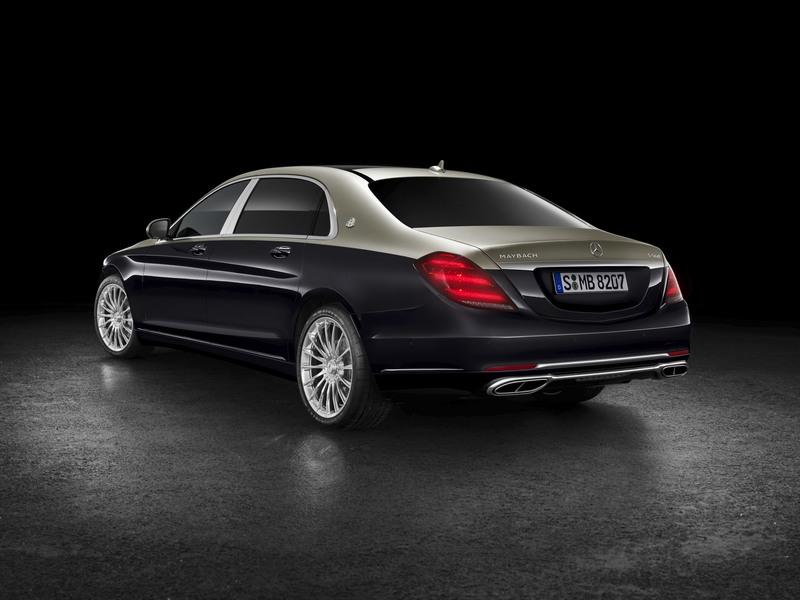 2019 Mercedes-Maybach S-Class Exterior - image 767735