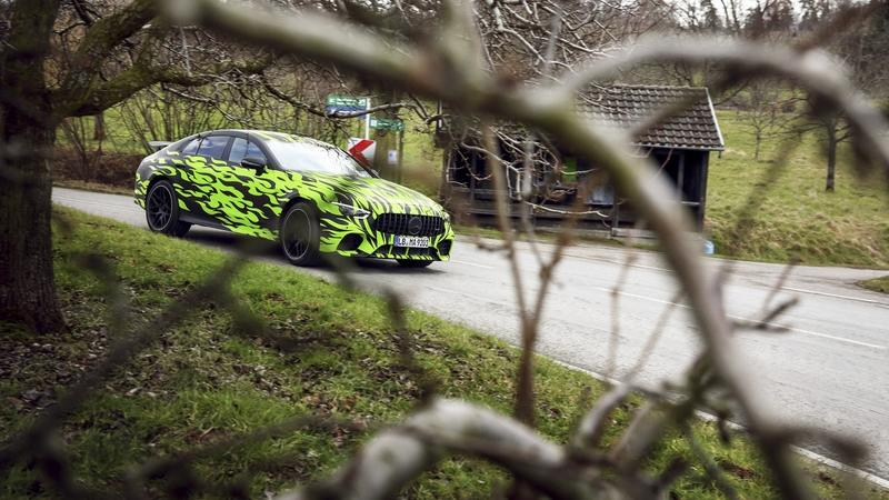 "Mercedes Shows Off Some ""Official"" Spy Shots of the Upcoming Mercedes-AMG GT4"