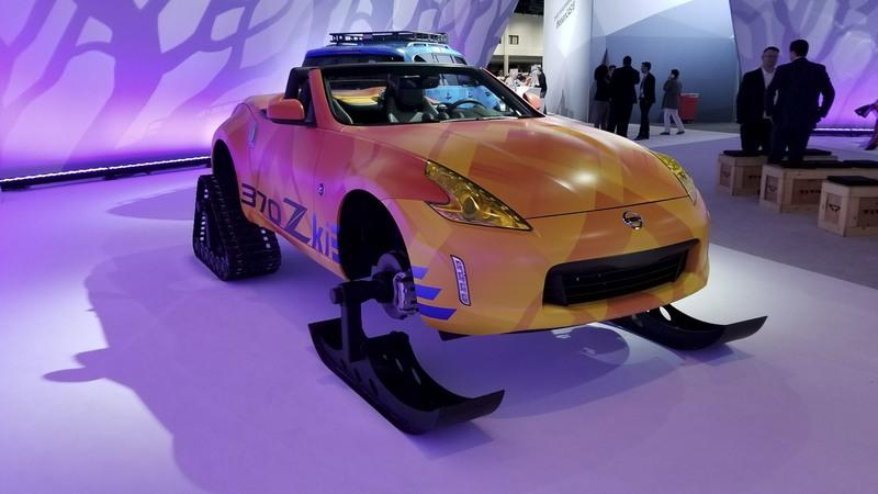 The Nissan 370Kzi Is a V-6-powered Snowmobile You can't Buy