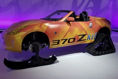 The Nissan 370Kzi Is a V-6-powered Snowmobile You can't Buy - image 766319