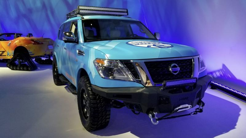 Nissan Once Again Beats The Winter Blues With Armada Snow Patrol In Chicago